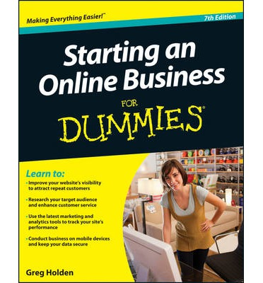 Buy Starting an Online Business for Dummies Book 7th edition, 7ed
