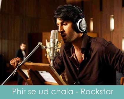 Sheet Music - Phir Se Udd Chala (Rockstar) Chords, Tabs, How to Play