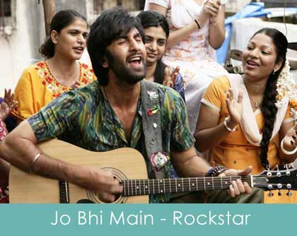 Sheet Music - Jo Bhi Main (Rockstar) Chords, Tabs, How to Play