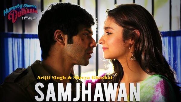 Sheet Music - Mein Tenu Samjhawan Ki (Humpty Sharma Ki Dulhania)
