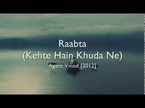 Sheet Music - Raabta (Kehte Hain Khuda Ne), Agent Vinod Tabs, Chords