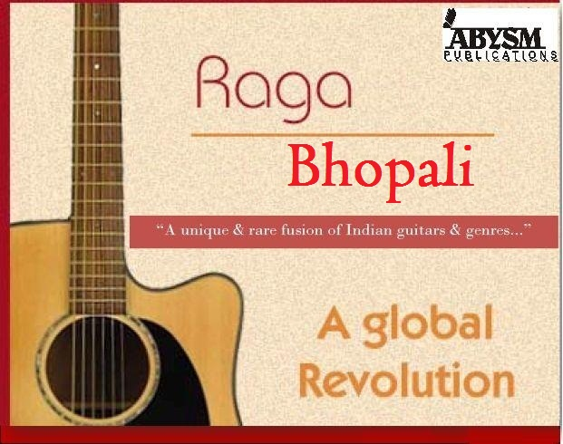 Sheet Music - Raga Bhopali | Guitar, Piano, Ragas, Notes, Lesson, Tabs, Raag, Bhupali