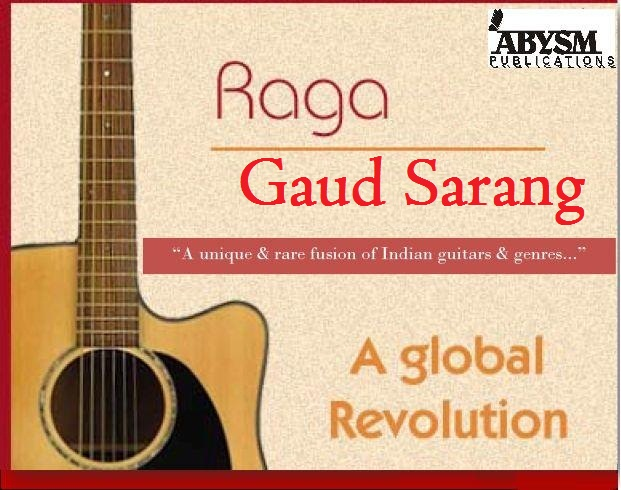 Sheet Music - Raga Gaud Sarang | Guitar, Piano, Ragas, Notes, Lesson, Tabs,Raag