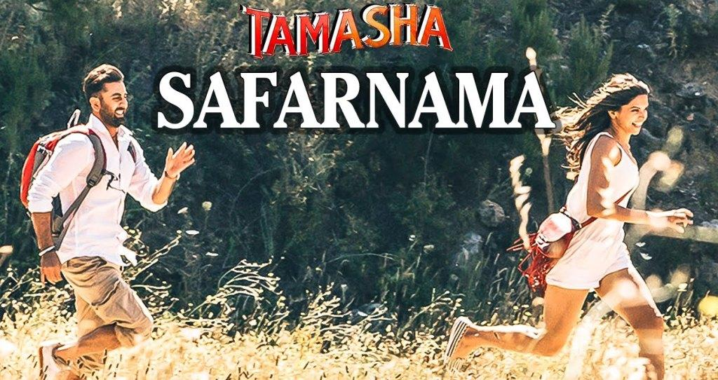 Sheet Music - Safarnama (Tamasha) Chords, Tabs, How to Play Notes