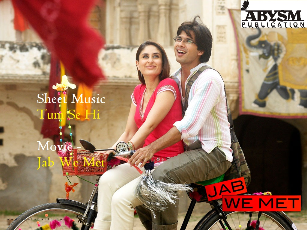 Sheet Music - Tum Se Hi - Jab We Met