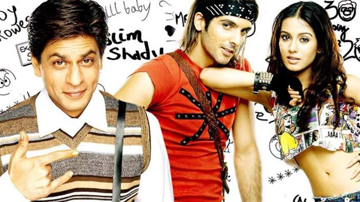 sheet music - main hoon na chords tabs song